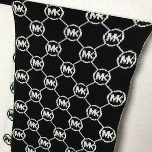 MICHAEL Michael Kors Accessories - MK Michael Kors Reversible White/Black Scarf
